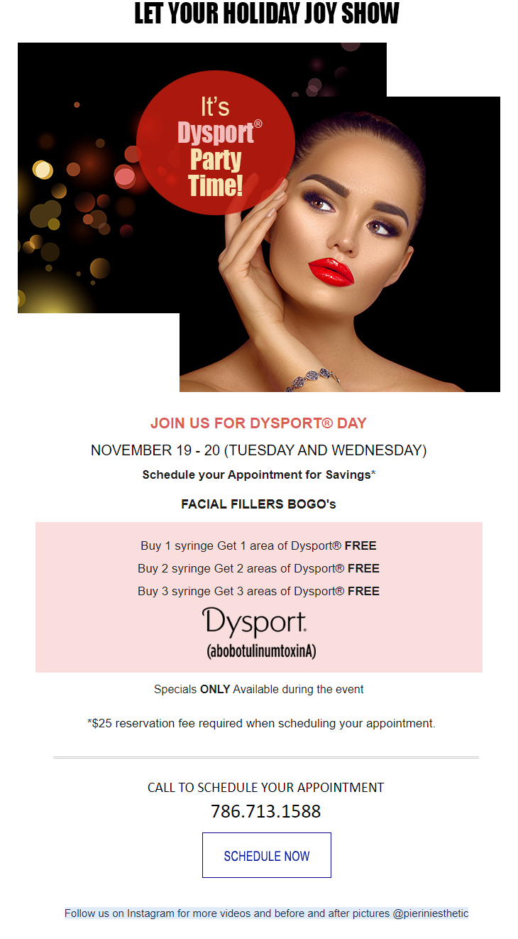 Dysport Event & Special